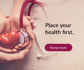 Place Your Health First