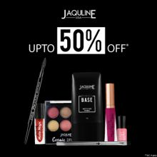 Jaqulineusa- Celebrate Big Savings With Super Bumper Offer: Upto 50% Off On Jaqulineusa