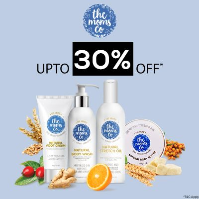 The Moms Co- Pamper Your Skin With The Goodness Of The Moms Co Range Available At 'upto 30% Off' Offer