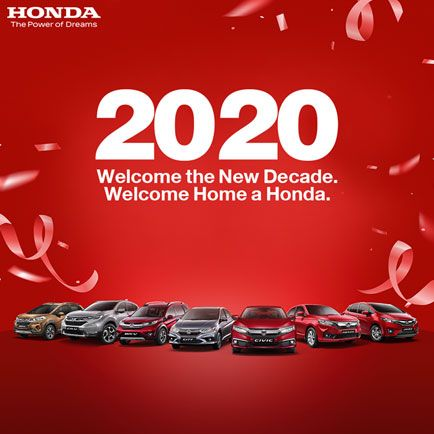Welcome The New Decade.welcome Home A Honda