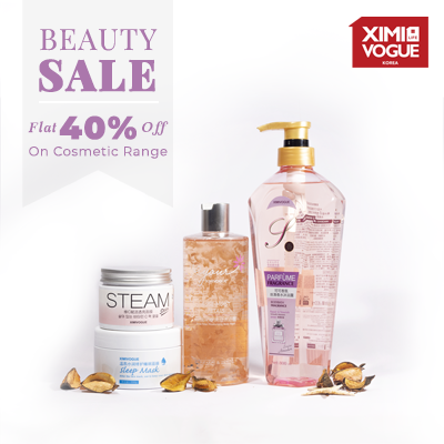 Flat 40% Off On Selected Cosmetics.