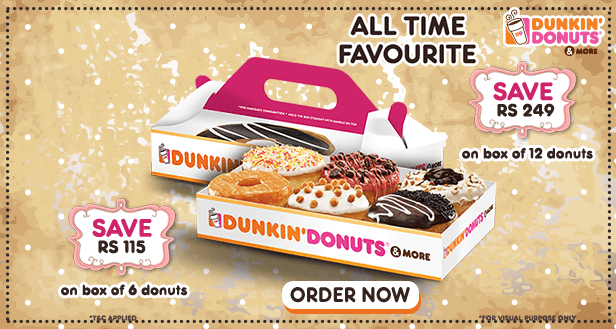 Visit our website: Dunkin' Donuts - Rohini West, New Delhi