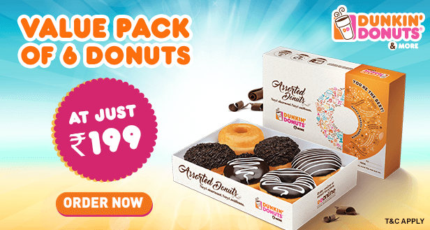 Visit our website: Dunkin' Donuts - Sector 38 A, Noida