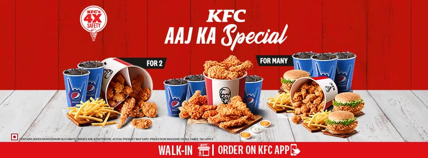 Visit our website: KFC - West Patel Nagar, New Delhi