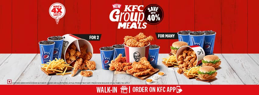 Visit our website: KFC - Shop No B139 & B141, Gr Flr, Supermart 1, Gurgaon