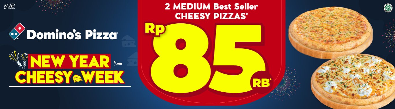 Visit our website: Domino's Pizza - Pangkalan Jati Limo, Depok