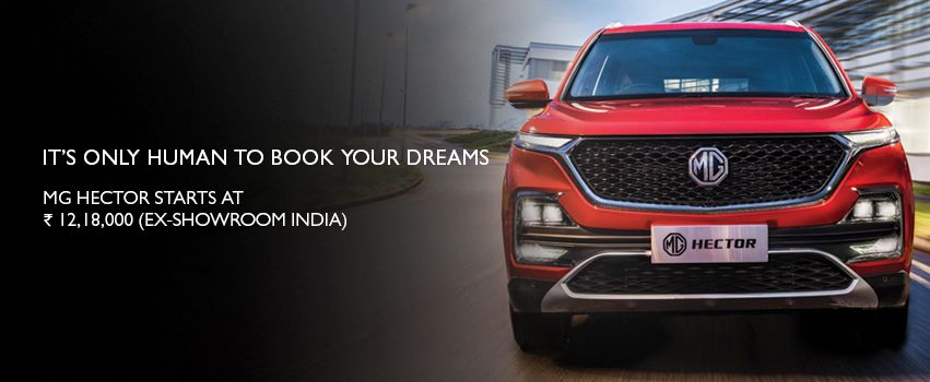 Visit our website: MG Motor India